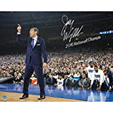 Steiner Sports Jay Wright Signed Sideline Point 2016 National Championship Game 8x10 Photo w/ ''2016 National Champs'' Insc