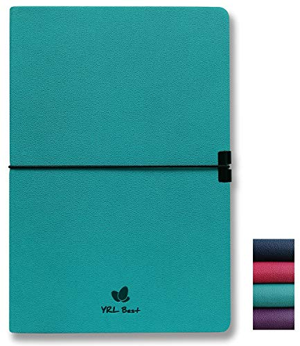 YRL Best Writing Journal Notebook, College Ruled/Lined, A5 Size, 5.8x8.3