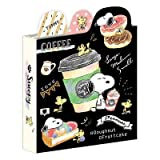 Snoopy Book Type memo pad / Cafe 99183