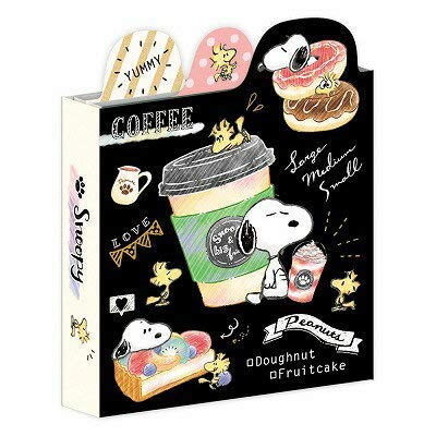 Snoopy Book Type memo pad / Cafe 99183 by Unknown (Image #1)