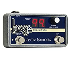Instant Recall. With the HOG2's myriad sounds, the HOG2 Foot Controller gives you easy access to up to 100 stored presets. Your entire show can be set up at the touch of a button. When recording you have access to complex sound transitions th...