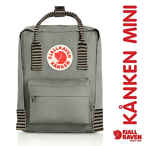 Fjallraven - Kanken Mini Classic Backpack Fog-Striped