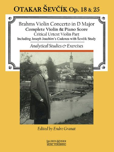 Analytical Instruments - Violin Concerto in D Major: with Analytical Studies and Exercises by Otakar Sevcik, Op. 18 and 25