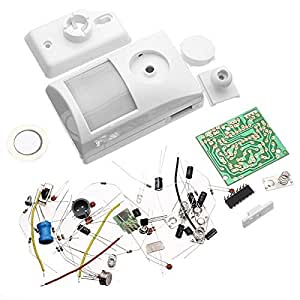 Infrarrojos Kit Alarma electrónica Kit Electrónico DIY Aprendizaje
