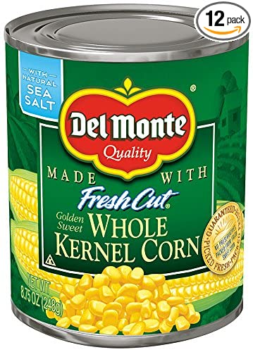 amazon com del monte canned fresh cut golden sweet whole kernel
