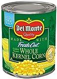 Del Monte Canned Fresh Cut Golden Sweet Whole Kernel Corn, 8.75-Ounce