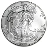 2000 - American Silver Eagle .999 Fine Silver