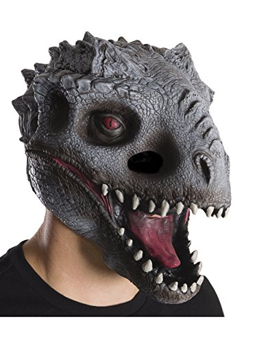 Rubie's Men's Jurassic World Dino 2 3/4 Mask, Multi, One Size -