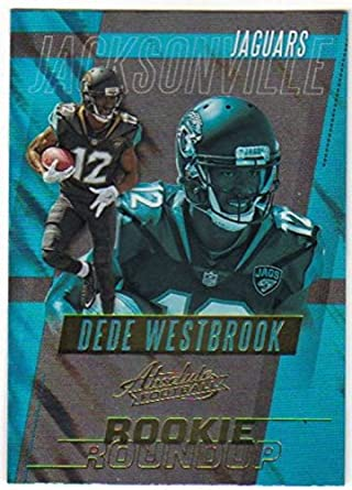 0886a7187 2017 Panini Absolute Rookie Roundup Retail  30 Dede Westbrook Jaguars  Football Cards