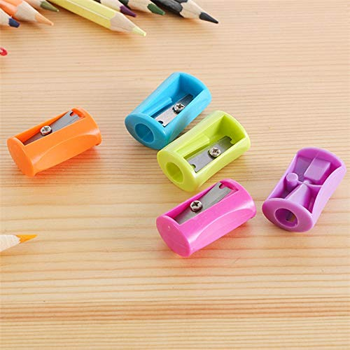 RanMory31 Manual Pencil Sharpener 1PC Cute Kawaii Pencil Sharpener Stationary Office School Supplies Accessories Manual Pencil Sharpeners