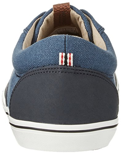 Jones Navy Jfwvision Canvas Homme Blazer Jack Suede amp; Basses Bleu Mix Sneakers Navy Washed Zf75w
