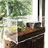 FidgetGear Reptile Cage Breeding Box Tarantula Insect Lizard Snake Amphibian Frog New S