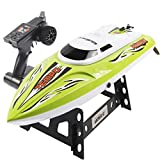 Leegor UDI 002 RC 2.4GHz 4-Channels Wireless Remote Control High Speed Boat With Water Cooling System Brushed Motor (Green)