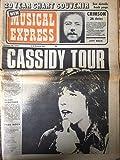 New Musical Express - NME magazine (October 28, 1972) David Cassidy, Jeff Beck, Black Sabbath, Gary Glitter, Chris Hillman, Slade, Beatles, Neil Diamond, Melanie, Focus