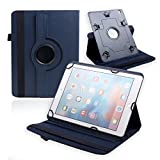 Best New Huawei MediaPad M2 10.0 Case Covers, Universal Dark Blue Colour case for 9 inch to 10.1 inch Tablet PU Leather Protect Cover Case Stand for Huawei MediaPad M2 10.0 and all Tablets from 9 inch to 10.1 inch screen siz