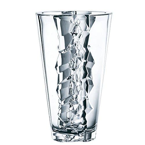 Nachtmann Ice 11-Inch Lead Crystal Vase - Glacial Ice Crystal