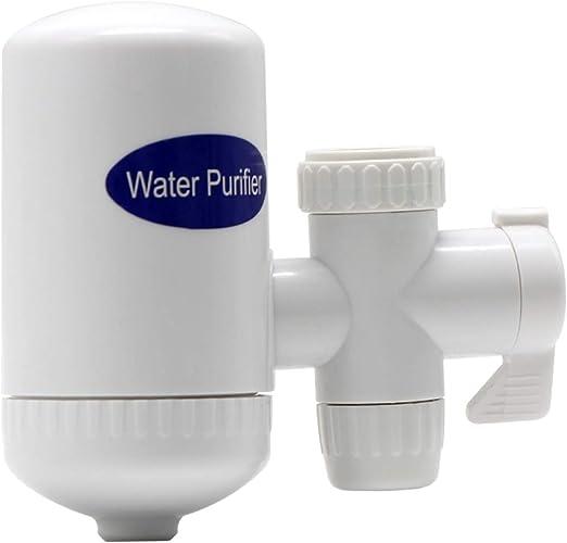 Fesjoy Filtro de Agua Filtro de Agua de Grifo con Sistema de ...