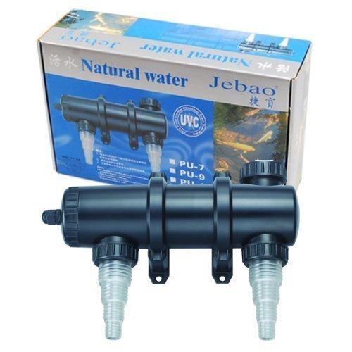 (Jebao PU-13 Ultraviolet Clarifier Up to 2,000 gal, 13W UVC)