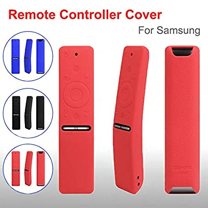 Ourleeme Compatible with Samsung BN59-01241A BN59-01242A BN59-01266A Protective Silicone Covers Remote Case Eco-Friendly Soft Cover Shockproof Washable Anti-Lost with Wrist Strap etc