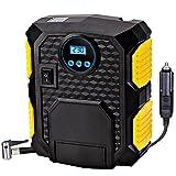 AHAHOO Portable Digital Tire Inflator DC 12V Car Air Compressor Pump - ...