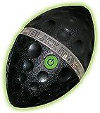 Diggin Black Max Light Spiral Football Toy