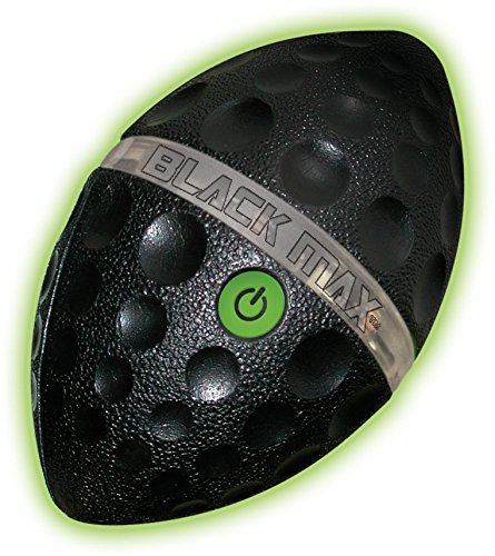 Price comparison product image Diggin Black Max Light Spiral Football Toy