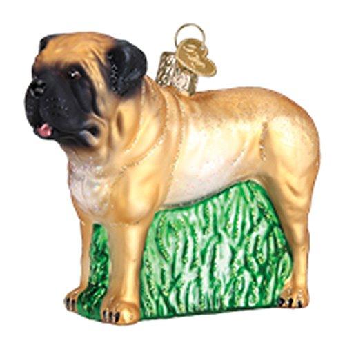 Mastiff Ornaments - Old World Christmas 12527 Ornament, English Mastiff