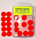 18 mm SEA FISHING POP UP BEADS, FOR LIFTING YOUR BAITS OFF THE SEA BED
