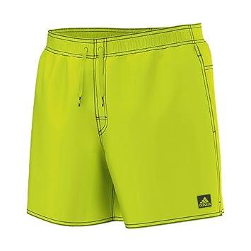 4237cbeb652fb3 adidas Herren Badeshort Badehose Basic SOLID Short SL solar Yellow ...