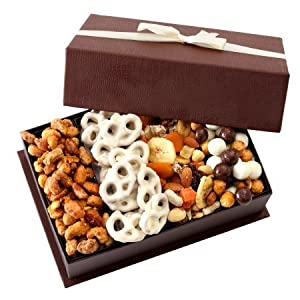 Gourmet Fruit and Nut Gift Tray by Broadway Basketeers