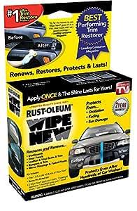 wipe new trim restorer automotive. Black Bedroom Furniture Sets. Home Design Ideas