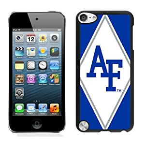 NCAA Mountain West Conference MWC Football Air Force Falcons 13 Black Case Cover for iPod Touch 5 Grace and Cool Design