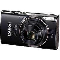 Canon PowerShot ELPH 360 HS Digital Camera w/SD Card & Accessory Bundle by Canon
