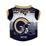 NFL Los Angeles Rams Pet Performace T-Shirt, Medium