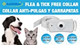 DTMCare (3 Pack) Flea and Tick Collar. Ultrasonic