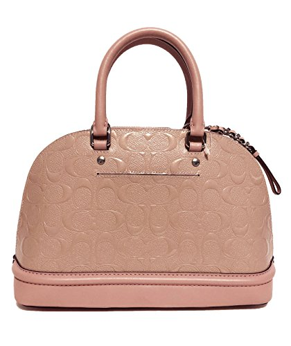 Purse Women��s Blush Shoulder Sierra Satchel Mini Coach Shoulder Handbag Inclined 86xdqw