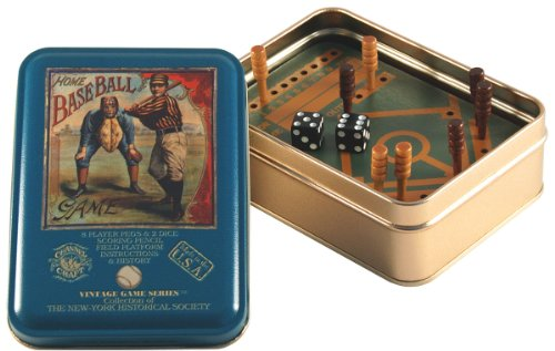 - Channel Craft TTHB Home Baseball in a Vintage Game Tin