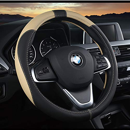16sixteen the best amazon price in savemoney essteering wheel cover, microfiber leather cover, steering wheel accessories for women soft and breathable