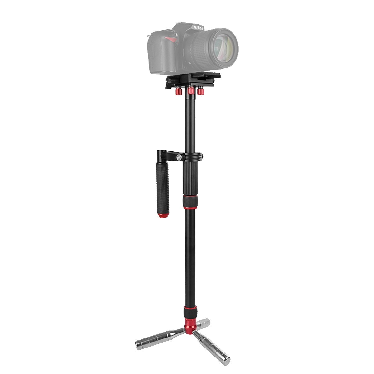 Up Load 6.6 lbs IFOOTAGE Aluminum Handheld Camera Stabilizer 20 inches Video Steadycam Stabilizer with 1//4 inch Screw Quick Release Plate Compatible for DSLR Cameras Camcorders