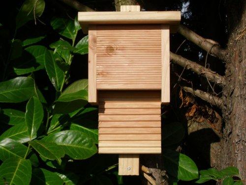 Fledermauskasten aus Douglasienholz Größe M, Fledermaushöhle