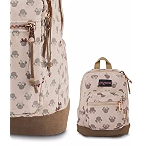 JanSport Disney Right Pouch (Luxe Minnie)