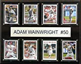 MLB St. Louis Cardinals Adam Wainwright 8-Card Plaque, 12 x 15-Inch