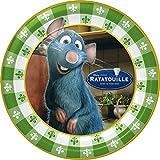 Ratatouille Large Paper Plates (8ct)