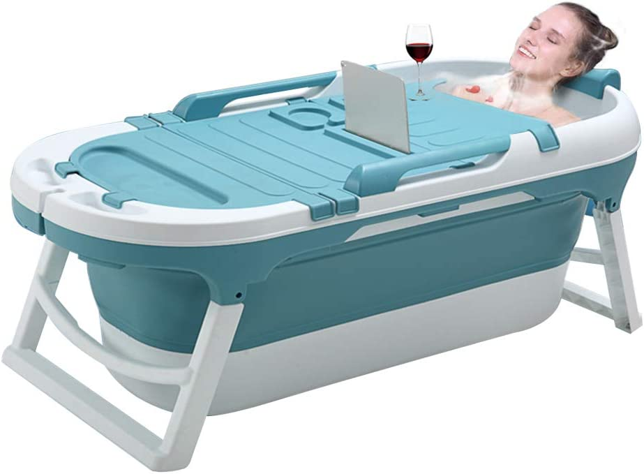ZDORZI Portable Bathtub for Adults and Babies