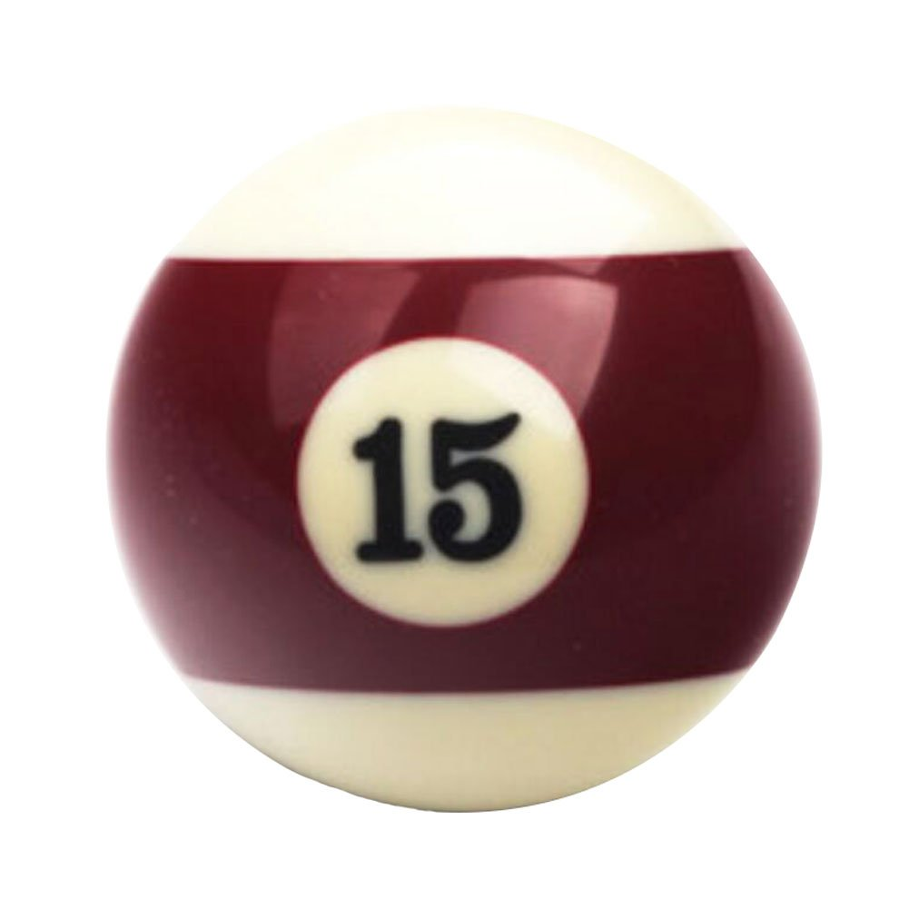 Black Temptation 1 Pcs Cue Sport Snooker USA Piscine Billiard Balls 57.2 mm /2-1/4 -NO.15