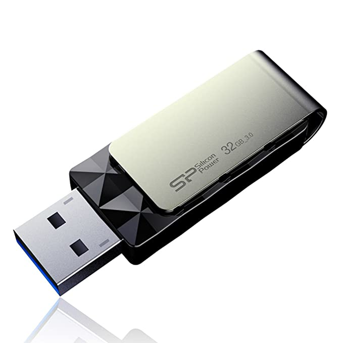 Amazon.com: Silicon Power 32GB USB 3.0 Flash Drive, Blaze ...