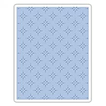 Sizzix 661611 Texture Fades Embossing Folder, Star Bright by Tim Holtz
