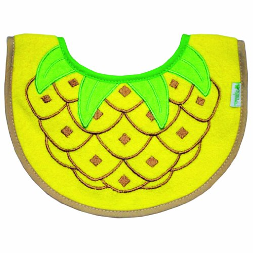 Grand Pineapple (Green Sprouts Stay Dry Pineapple Bib (3-6 months) )