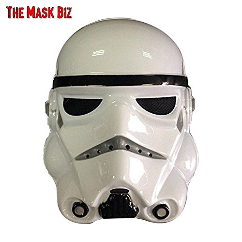 The Mask Biz Clone Soldier Face Head Funny Mask PVC (Funny Face Masks)
