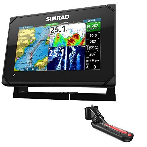 Simrad GO7 XSE Chartplotter/Fishfinder w/TotalScan Transom M